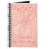 Peach Ribbon Journal