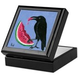 Crow & Watermelon Keepsake Box