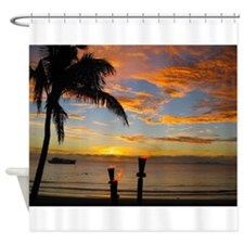 Fiji Sunset Shower Curtain