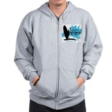 Surf's Always Up Zip Hoodie