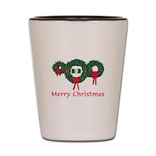 Nigeria Christmas 2 Shot Glass