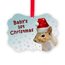Baby's 1st Christmas Squirrel First Ornament