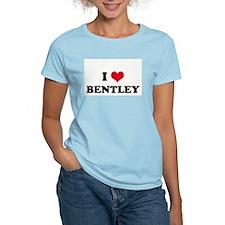 I HEART BENTLEY  Women's Pink T-Shirt