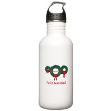 Panama Christmas 2 Water Bottle