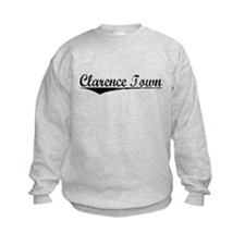 Clarence Town, Aged, Sweatshirt