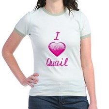 I Love/Heart Quail T