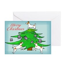 Jack Russell ChristmasGreeting Cards (Pk of 10)