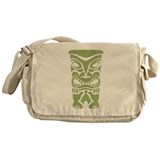 Angry Tiki! Messenger Bag