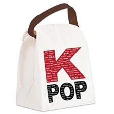 KPOP Artists Canvas Lunch Bag