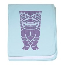 Happy Tiki! baby blanket
