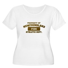 Personalized Property of Newfoundland T-Shirt