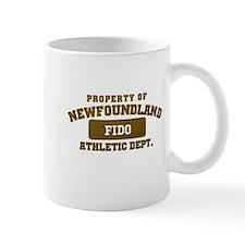 Personalized Property of Newfoundland Mug