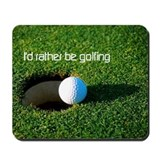 GOLFING Mousepad