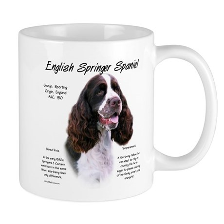 Liver English Springer Mug       