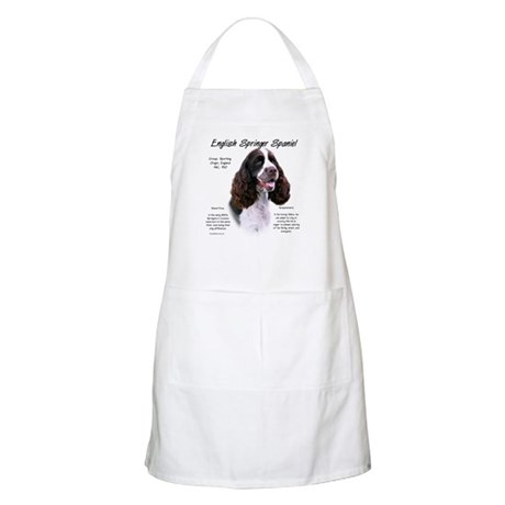 Liver English Springer BBQ Apron
