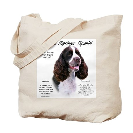 Liver English Springer Tote Bag