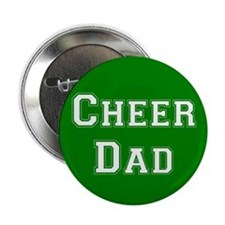 Cheer Dad Green Button