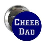 Cheer Dad Blue Button