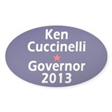 Ken Cuccinelli Governor 2013 Decal