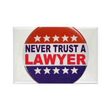 LAWYER POLITICAL BUTTON Rectangle Magnet (10 pack)