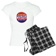 LAWYER POLITICAL BUTTON Pajamas