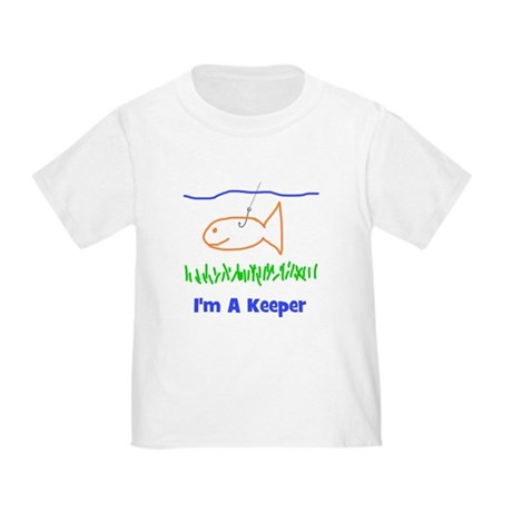 I'm A Keeper Toddler T-Shirt