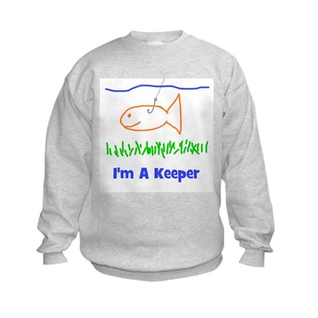 I'm A Keeper Kids Sweatshirt