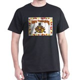 Happy Thanksgiving Black T-Shirt