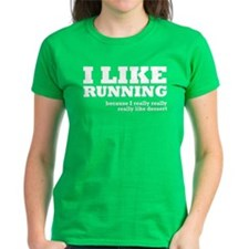 I Like Running and Dessert Tee