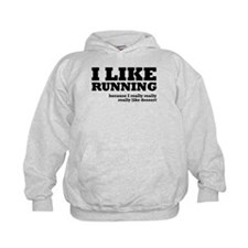 I Like Running and Dessert Hoodie