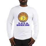 NOPD Homicide Long Sleeve T-Shirt