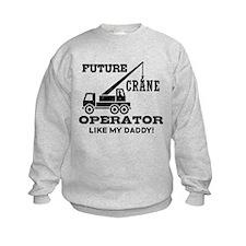 Future Crane Operator Sweatshirt