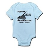 Future Crane Operator Infant Bodysuit