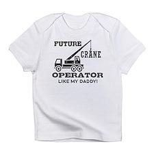 Future Crane Operator Infant T-Shirt
