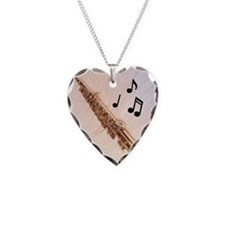 Flute Notes Necklace