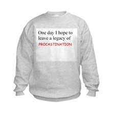 Legacy of Procaratination Jumper Sweater