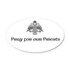 Cute Oval Oval Car Magnet