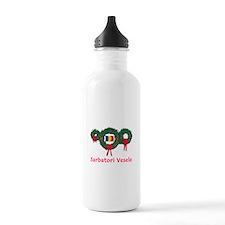 Romania Christmas 2 Water Bottle