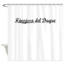 Hinojosa del Duque, Aged, Shower Curtain