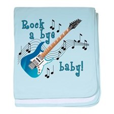 Cute Guitars baby blanket