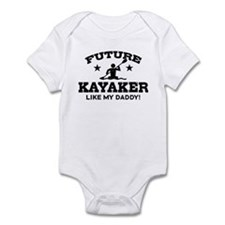 Future kayaker Like My Daddy Infant Bodysuit