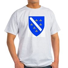 Bosnia and Herzegovina Ash Grey T-Shirt