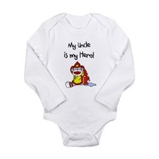 Uncle Firefighter Hero Body Suit