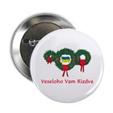 "Ukraine Christmas 2 2.25"" Button"