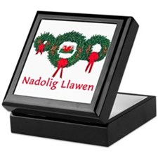 Wales Christmas 2 Keepsake Box