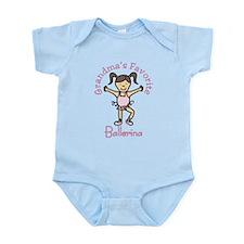 Grandma's Favorite Ballerina Infant Bodysuit