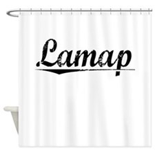 Lamap, Aged, Shower Curtain