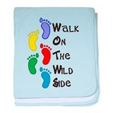 Walk On The Wild Side baby blanket