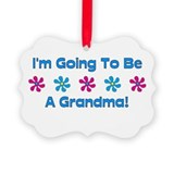 Cute Grandma Picture Ornament