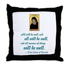 All Will Be Well Throw Pillow